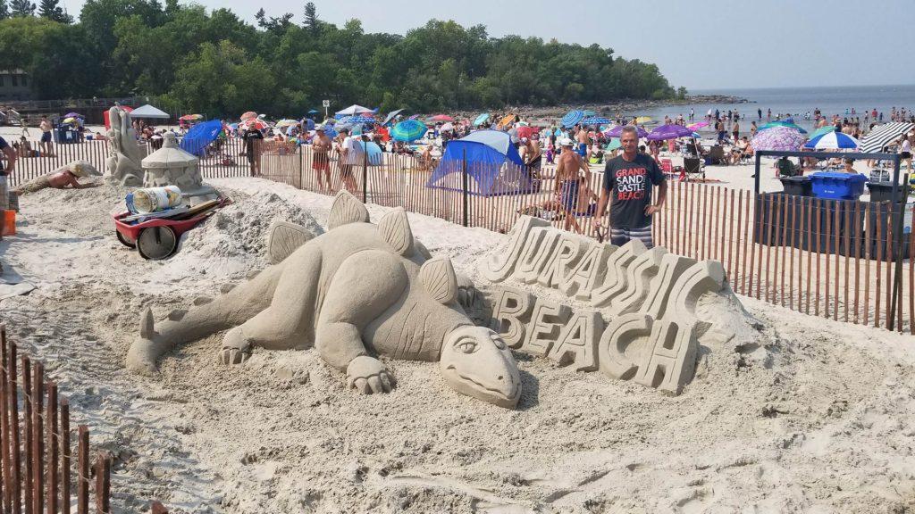 Grand Beach Sandcastles And More  Fun, Sun  Sand Castles-7547